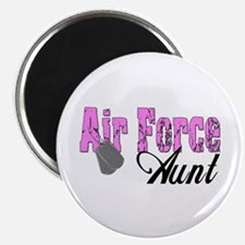 "Air Force Aunt 2.25"" Magnet (10 pack)"