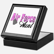 Air Force Aunt Keepsake Box