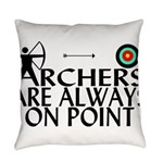 Archers On Point Everyday Pillow