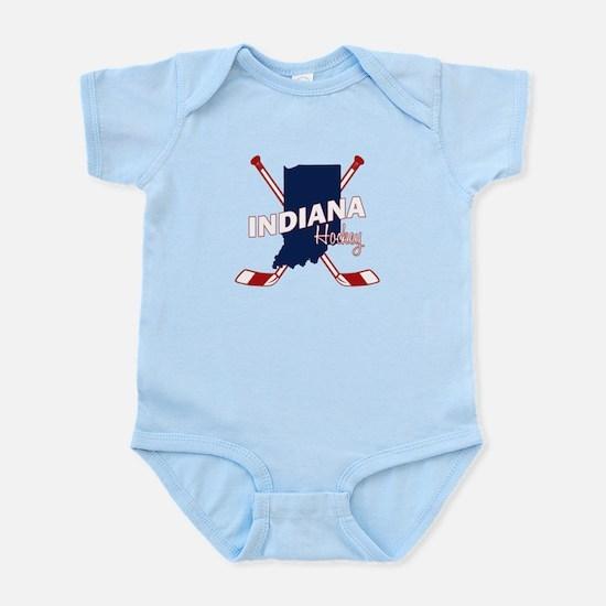 Indiana Hockey Infant Bodysuit