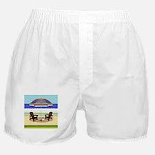 Peace Beach Boxer Shorts
