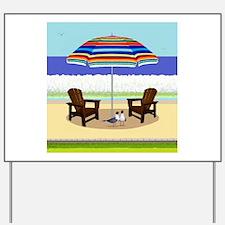 Peace Beach Yard Sign