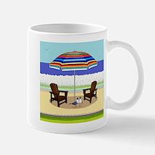 Peace Beach Mugs
