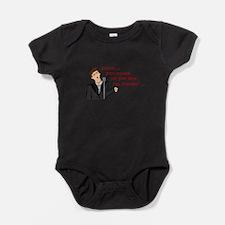 Cute Rickrolled Baby Bodysuit