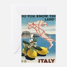 Vintage poster - Italy Greeting Cards