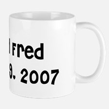 Lisa and Fred October 19, 20 Mug