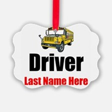 School Bus Driver Ornament