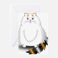Schatzi - the worried kitten Greeting Cards