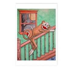 Bubba the Sock Monkey Postcards (Package of 8)