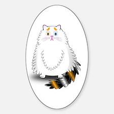 Schatzi - the worried kitten Decal