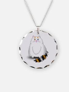Schatzi - the worried kitten Necklace