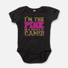 Cool Army love Baby Bodysuit