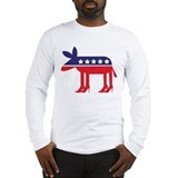 Democrat donkey Long Sleeve T-shirts