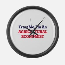 Trust me, I'm an Agricultural Eco Large Wall Clock