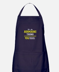 ARMANI thing, you wouldn't understand Apron (dark)