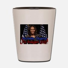 Michelle Obama For President Shot Glass