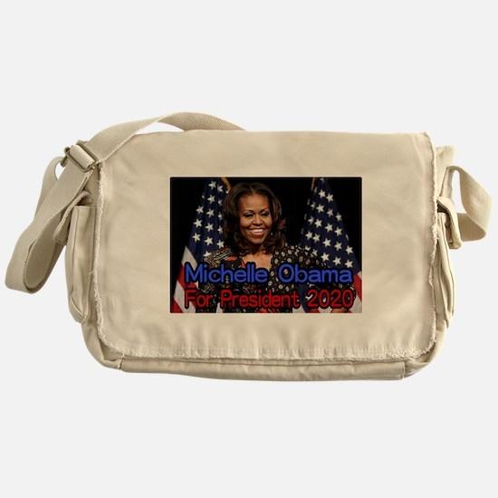 Michelle Obama For President Messenger Bag