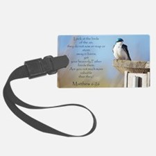 Cute Bible quotes Luggage Tag