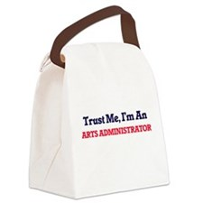 Trust me, I'm an Arts Administrat Canvas Lunch Bag