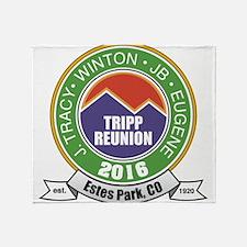 Tripp2016 Throw Blanket
