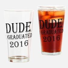 Cute Funny graduation Drinking Glass