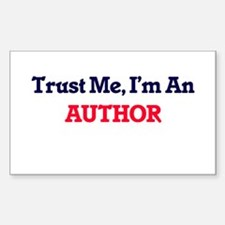 Trust me, I'm an Author Decal