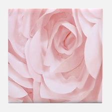 Material Rose Tile Coaster