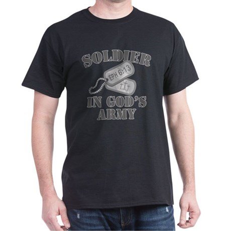 Soldier of God Army Dark T-Shirt