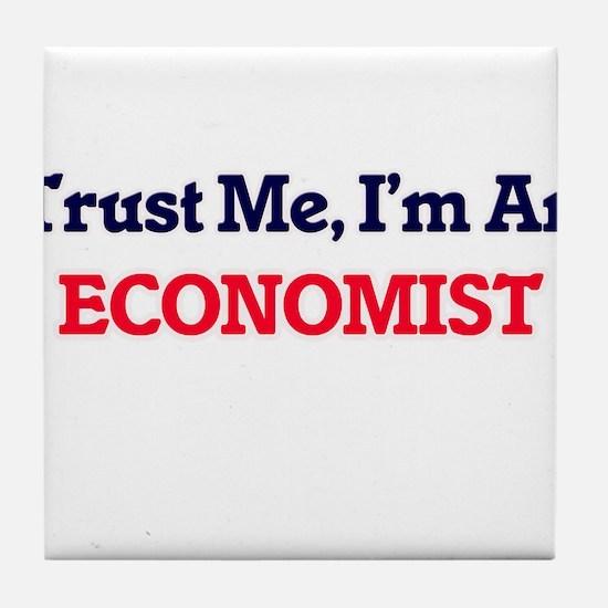 Trust me, I'm an Economist Tile Coaster