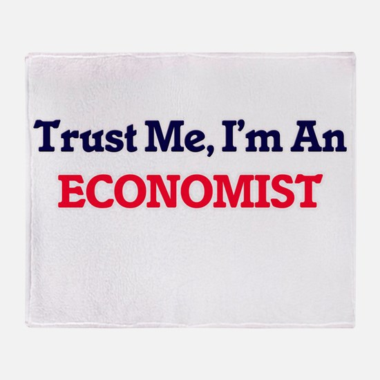 Trust me, I'm an Economist Throw Blanket