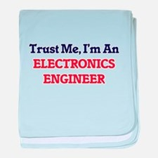 Trust me, I'm an Electronics Engineer baby blanket