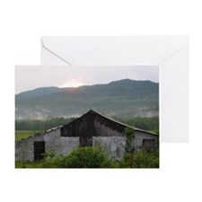 Mist Mountain Greeting Card