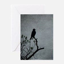Majestic Crow Greeting Cards