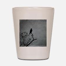 Majestic Crow Shot Glass