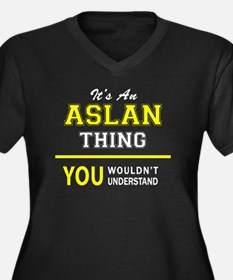 ASLAN thing, you wouldn't unders Plus Size T-Shirt