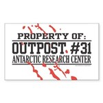 Outpost #31 Rectangle Sticker