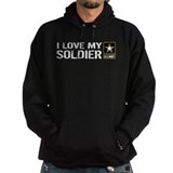 Army girlfriend Hoodie (dark)