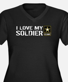 U.S. Army: I Love My Soldier Plus Size T-Shirt