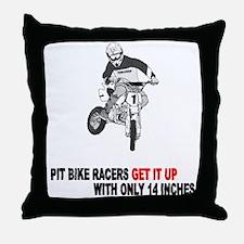 Pit Bike Racers 1 Throw Pillow