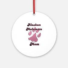Malamute Mom3 Ornament (Round)