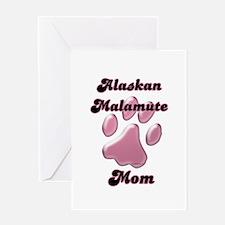 Malamute Mom3 Greeting Card