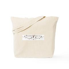 Blended Beauty Vine Tote Bag