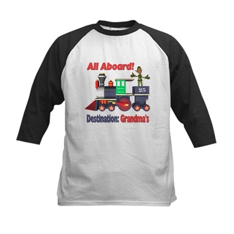 All Aboard Kids Baseball Jersey