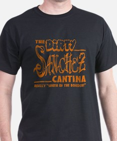 The Dirty Sanchez (Orange Pri T-Shirt