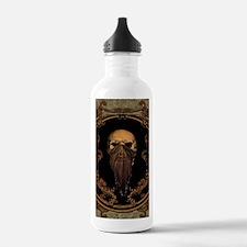 Amazing skull on a frame Water Bottle