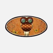 Cute steampunk owl Patch