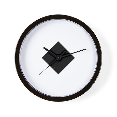 Black Diamond Ski Wall Clock