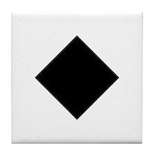 Black Diamond Ski Tile Coaster