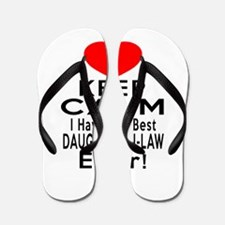I Have The Best Daughter-in-law Flip Flops