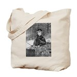 Ride in the Snow Tote Bag